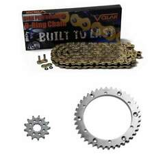 More Speed Red X-Ring Chain and Sprocket Set 1989-2004 Yamaha Warrior 350