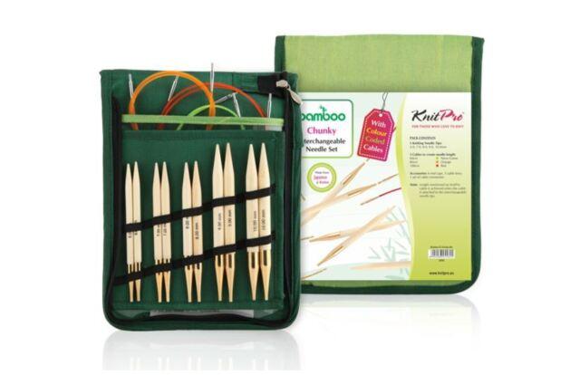 KnitPro-Bamboo-Chunky-set