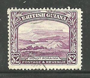 Album-Treasures-British-Guiana-Scott-240-2-Mt-Roriama-VF-Used-CDS