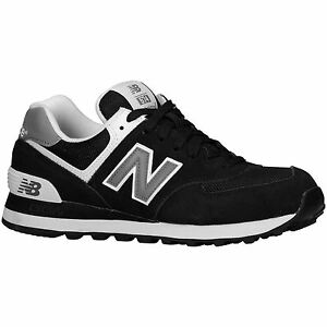 new balance classics traditionnels black white womens trainers