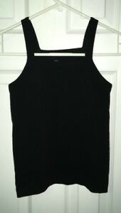 NWOT-Suzette-Collection-Black-Stretch-Tank-Top-Size-O-S-One-Size