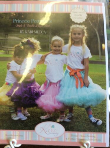 "KARI ME AWAY""PRINCESS PETTISKIRTS"" SINGLE & DOUBLE LAYER SIZE 216 GIRLS"