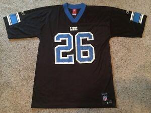 100% authentic 0f69e 31348 Details about Mens Sz L Vintage Reebok BLACK Kenoy Kennedy Detroit Lions  Jersey NFL Arkansas