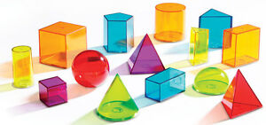 Learning-Resources-View-Thru-Colourful-Geometric-Shapes-Set-of-14-NEW