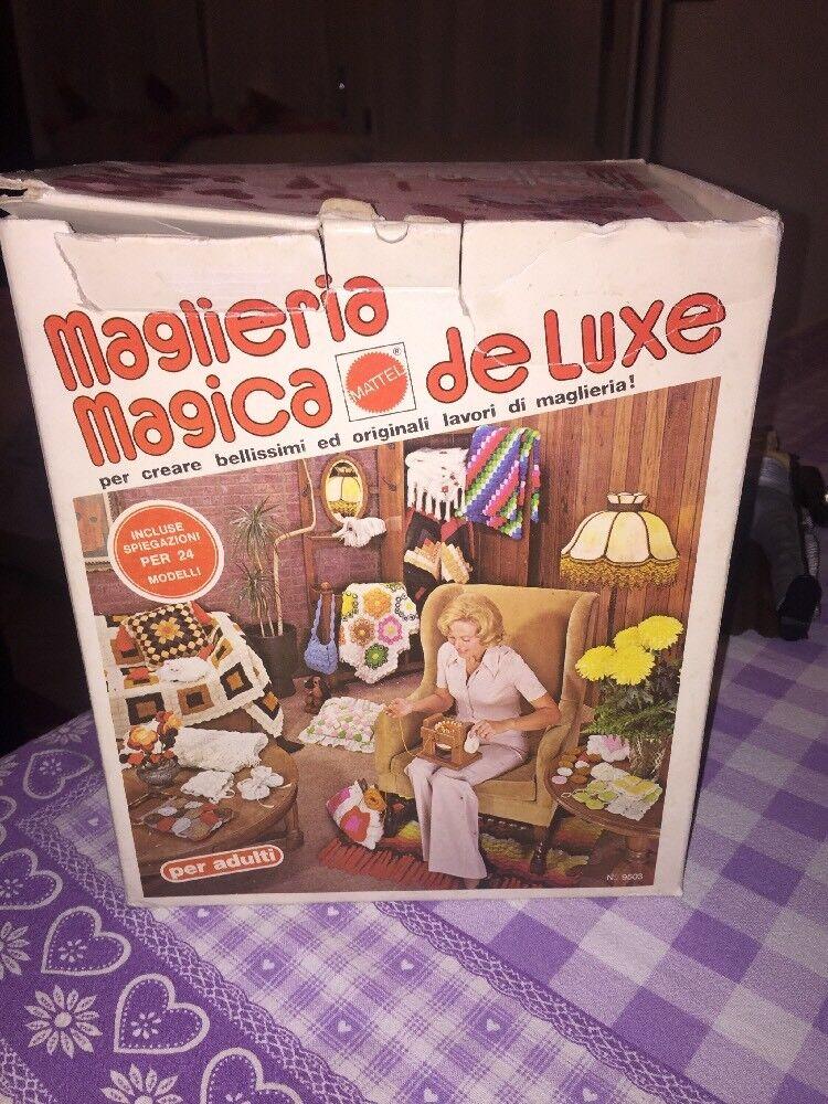 Maglieria Magica De Luxe Mattel Vintage