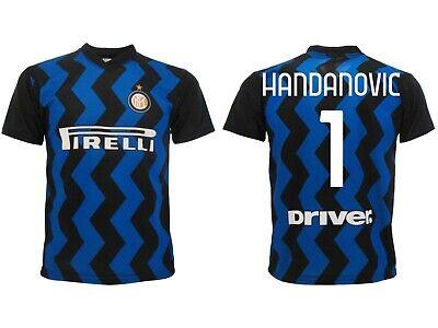 Maglia Handanovic Inter 2021 Ufficiale Divisa Home 2020 Samir 1 portiere Home | eBay