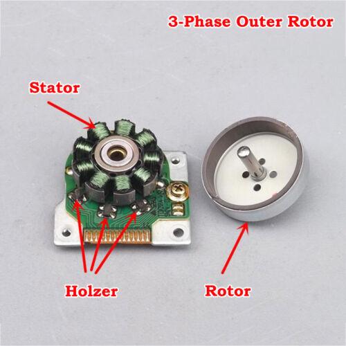 DC 5V 6V 9V 12V 9000RPM 3-Phase External Outer Rotor Brushless Motor CD-ROM