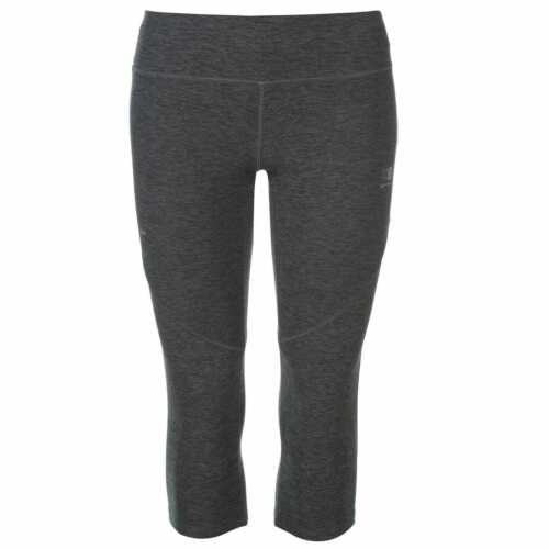 Karrimor Womens T Capri Tights Capris Pants Trousers Bottoms Breathable Zip