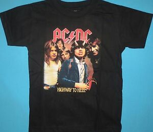 ACDC - Highway to Hell Baby Toddler, Kids T-shirt AC DC AC/DC