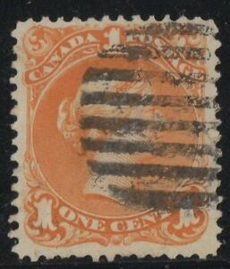 MOTON114-23-Large-Queen-1c-Canada-used-well-centered-XF-cv-250