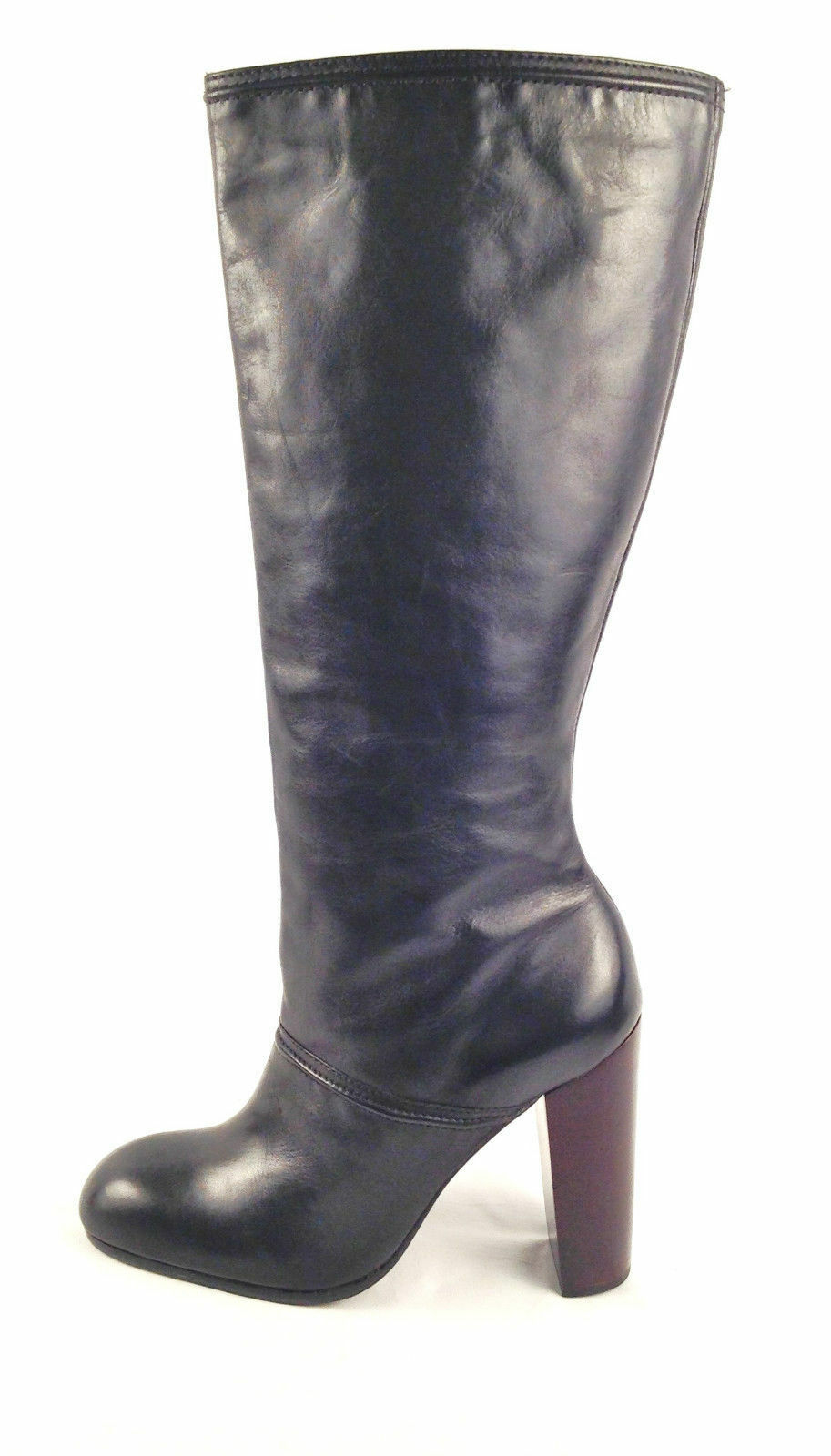 ELIZABETH AND JAMES CREED WOMEN'S  KNEE HIGH LEATHER BOOTS SHOES 495.00  9.5