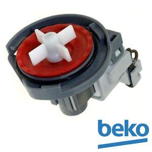 Veritable-BEKO-remplacement-vidange-Pompe-Pour-Beko-Lave-vaisselle-1748200100