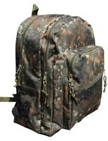 Flecktarn Camo Backpack Day Pack Rucksack Small - Military Camouflage School Bag