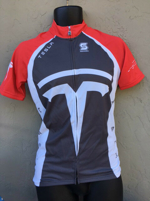 Tesla Cycling Jersey Bicycle clothing men's Bike shirt top
