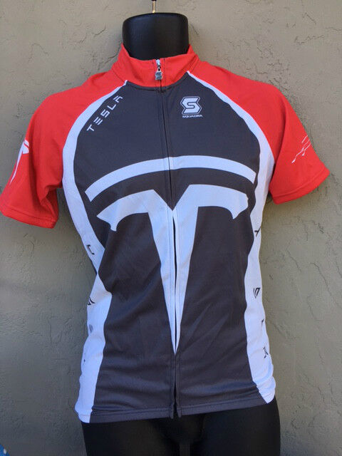 Tesla Cycling Jersey Bicycle clothing men's  Bike shirt top  all goods are specials