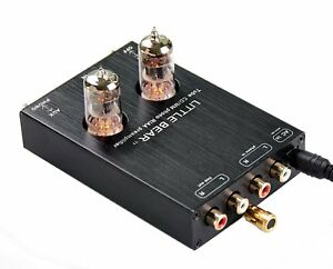 Details about Little bear T7 tube valve Phono RIAA MM Turntable RIAA Preamp  preamplifier AUX
