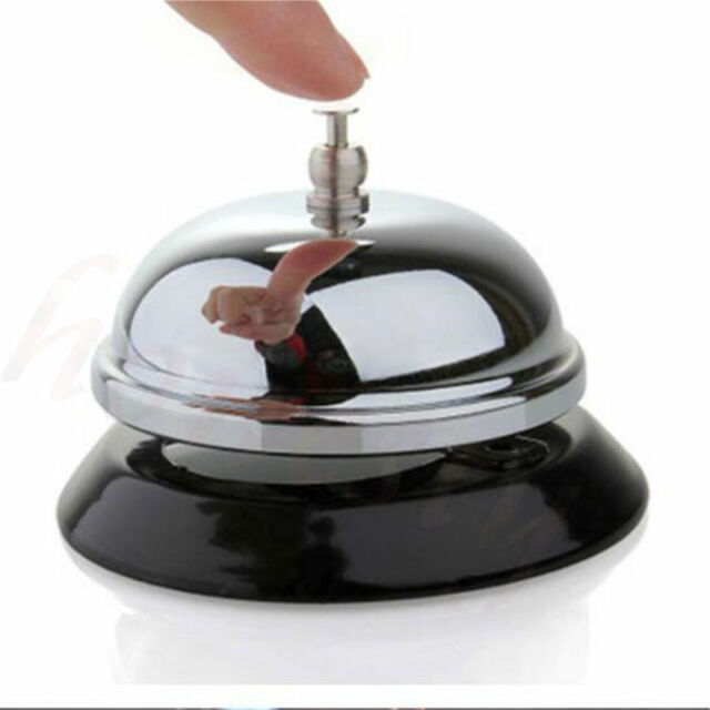 Ring For Service Call Bell Desk Kitchen Hotel Counter Reception Restaurant  Bar