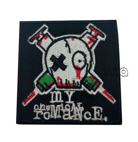 PUNK ROCK METAL MUSIC SEW//IRON ON PATCH: MY CHEMICAL ROMANCE GERARD WAY
