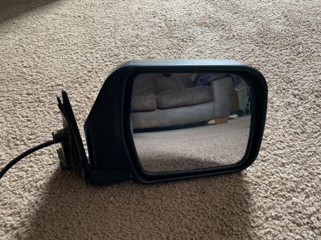 Power Foldaway Side View Door Mirror Black Assembly Passenger Right RH