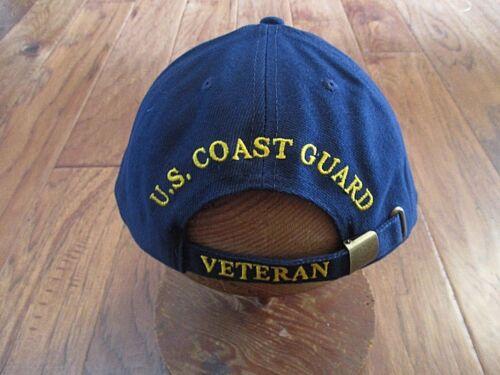 3 of 9 United States Coast Guard Veteran Hat Ball Cap Uscg Proudly Served 1e652e1bf063