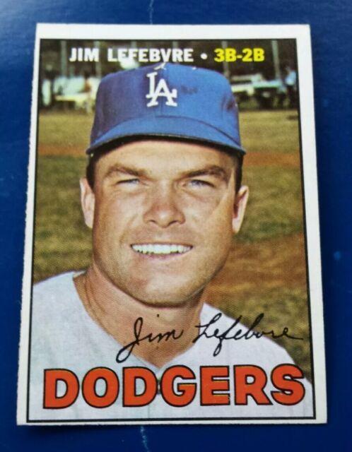1967 Topps Jim Lefebvre Los Angeles Dodgers #260 Baseball Card