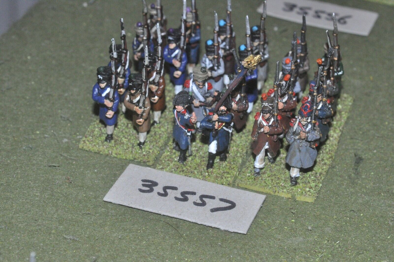 25mm napoleonic   french - regiment 24 figures - inf (35557)