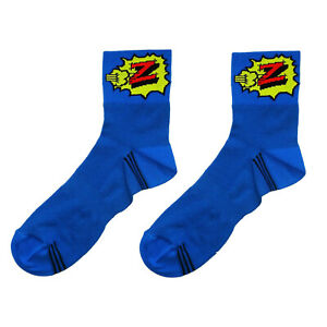Brand new classic Z vetements cycling team socks Italian made Retro fixie.