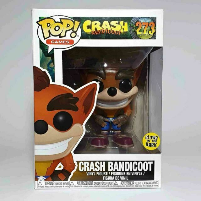 Funko POP Games Crash Bandicoot #273 Mint Condition New