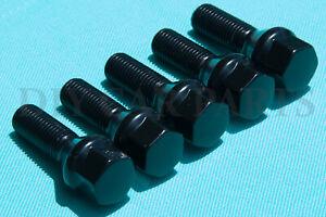 Set-of-20-Black-BMW-Lug-Bolts-Nuts-525i-528i-530i-330i-M5-328i-645Ci-M3-Z3-Z4