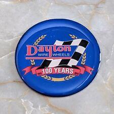 Blue Dayton Anniversary Wire Wheel Chips Emblems Decals Set Of 4 Size 238in