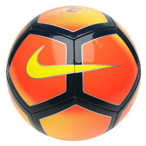 Nike Pitch Premier League Football Ball 2017 2018 Size 5 Soccer Ball ... 125976f30b8