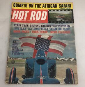 Hot Rod Magazine June 1964 Comet Mustang