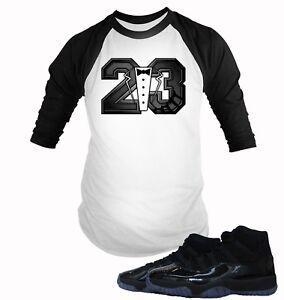 51e63001f8e867 Baseball Tee Shirt to Match Air Jordan 11 Cap And Gown Mens Graphic ...