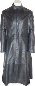 unicorn mens matrix movie style full length leather coat