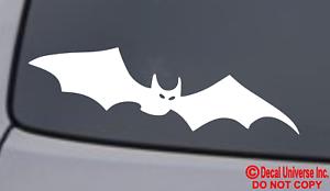 BAT Vinyl Decal Sticker Car Window Wall Bumper Happy Halloween Creepy Home Decor