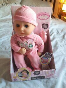 ZAPF Baby Annabell Little Annabell 36cm Soft Doll & Bottle ...