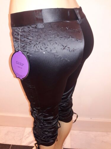 Satin Cargo Capri Cropped Trouser Women/'s Pants Size 3-14 Olive Black Sand Champ