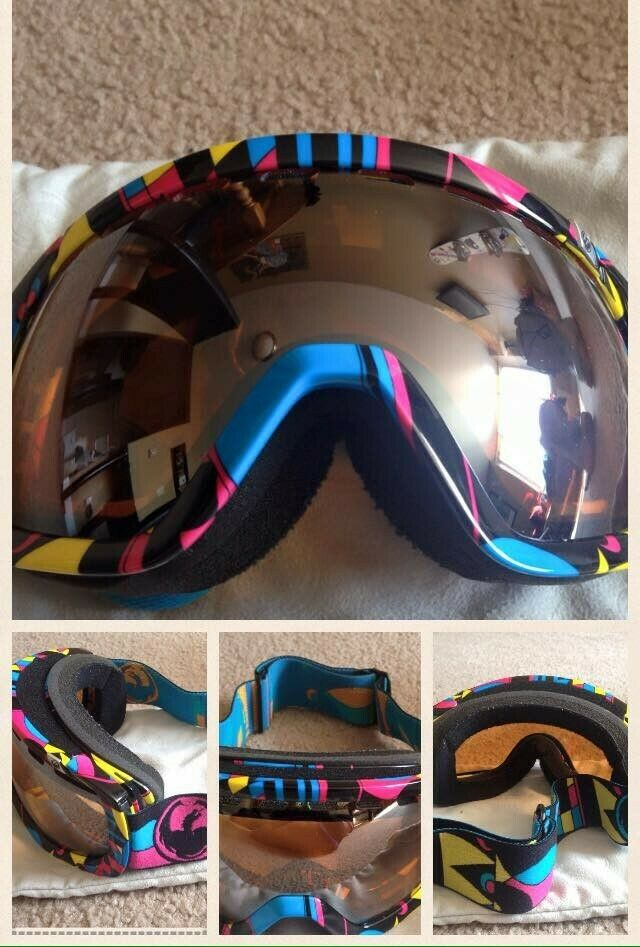 Dragon Special Edition Snow Goggles Used once      promotions