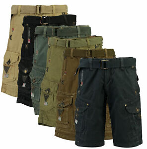 Pantaloni-Bermuda-Pantaloncini-corti-Shorts-Peanut-Men-GEOGRAPHICAL-NORWAY-Uomo