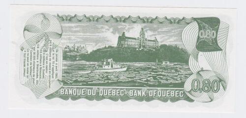 Banque Du Quebec One Berudollar = .80