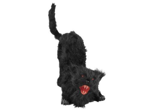 Bewegung LED Europalms Halloween Katze mit Sound