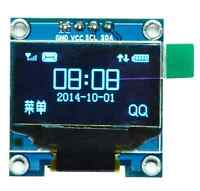 0.96in I2C IIC Serial 128X64 Blue OLED LCD LED Display Module SSD1306 Arduino