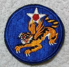 "WW2 US Army 14th Air Force AAF ""Flying Tigers"" SSI Patch Auth No Glow NOS"