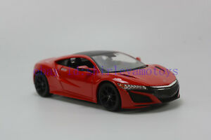 Maisto-1-24-Honda-2018-Acura-NSX-Diecast-MODEL-Racing-Car-NEW-IN-BOX-Red
