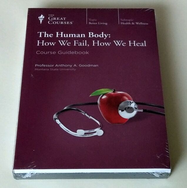 The Human Body: How We Fail, How We Heal (The Great Courses) DVD & guidebook