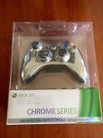 Rare Special Edition Official Xbox 360 Wireless Controller - Chrome Silver