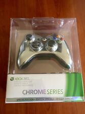 NEW! Rare! Special Edition Official Xbox 360 Wireless Controller - Chrome Silver