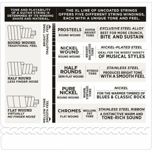 D/'ADDARIO EXL170 Nickel Wound 4-String 45-100 Bass Guitar Strings Regular Light