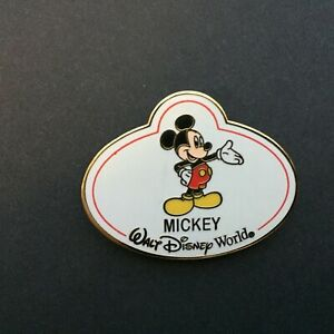 WDW-Walt-Disney-World-Nametags-Mystery-Mickey-Mouse-LE-1600-Disney-Pin-64969