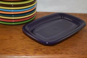 PLUM-Fiesta-Extra-Large-Butter-Dish-TRAY-ONLY-Great-side-plate-tray